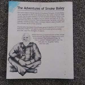Vintage Accents - The Adventures of Smoke Bailey-James Morrow 1st Ed
